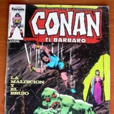 Cómics: CONAN EL BARBARO Nº 59 - EDICIONES FORUM 1983. Lote 13763978