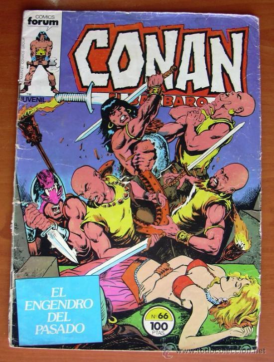 CONAN EL BARBARO Nº 66 - EDICIONES FORUM 1983 (Tebeos y Comics - Forum - Conan)