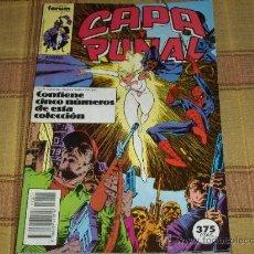 Cómics: RETAPADO FORUM VOL. 1 CAPA Y PUÑAL NºS 1 AL 5. 375 PTS. 1989. CON SPIDERMAN. MBE.. Lote 13879715