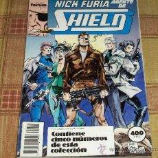 Cómics: RETAPADO FORUM VOL. 1 NICK FURIA AGENTE DE SHIELD NºS 1 AL 5. REGALO Nº 9 CONTRA SHIELD.. Lote 13879998
