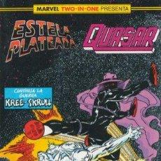 Cómics: MARVEL TWO-IN-ONE ESTELA PLATEADA QUASAR VOLUMEN 1 Nº 22 - DIFICIL DE CONSEGUIR . Lote 143644922