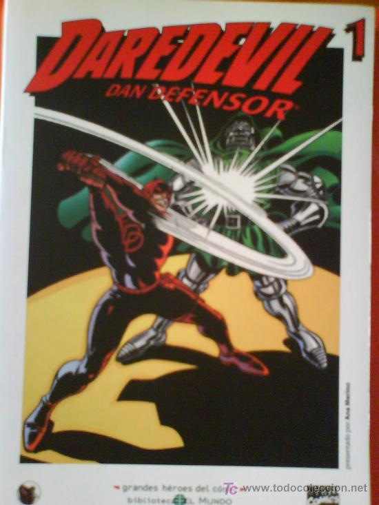 DAREDEVIL DAN DEFENSOR Nº1 : GRANDES HEROES DEL COMIC BIBLIOTECA EL MUNDO Nº 26 (Tebeos y Comics - Forum - Daredevil)