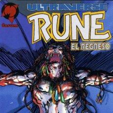 Cómics: ULTRAVERSE - RUNE: EL REGRESO - FORUM 1996. Lote 14284381