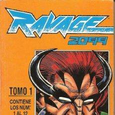 Cómics: RAVAGE 2099 TOMO CON LOS NºS DEL 1 AL 12. Lote 24833728
