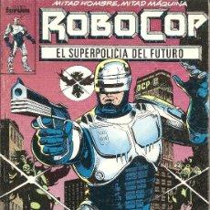 Cómics: ROBOCOP EL SUPER POLICIA DEL FUTURO TOMO CON LOS NºS DEL 1 AL 5. Lote 24833729