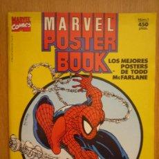 Cómics: MARVEL POSTER BOOK: SPIDERMAN... NUMERADO 1, , COLOR, POSTER SON EN FORMATO FOLIO.... Lote 14308639