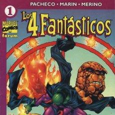 Cómics: LOS CUATRO FANTÁSTICOS. VOLUMEN 4 Nº 1. Lote 14626698