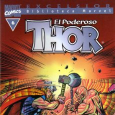 Cómics: EL PODEROSO THOR Nº 6 - EXCELSIOR BIBLIOTECA MARVEL - FORUM. Lote 14627541
