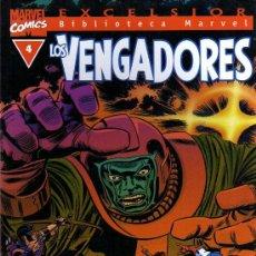 Cómics: LOS VENGADORES Nº 4 - EXCELSIOR BIBLIOTECA MARVEL - FORUM. Lote 14627553
