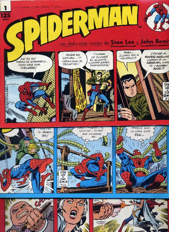 SPIDERMAN (LOTE DE 20 CUADERNILLOS CON LAS DAILY-STRIP DE STAN LEE Y JOHN ROMITA) (Tebeos y Comics - Forum - Spiderman)
