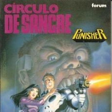 Cómics: PUNISHER, CIRCULO DE SANGRE OBRAS MAESTRAS Nº 9 TOMO 142 PAGINAS. Lote 26213710