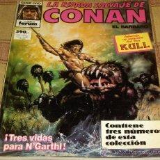 Cómics: FORUM. RETAPADO Nº 10 LA ESPADA SALVAJE DE CONAN CON NºS 71-72-73. 590 PTS. MBE.. Lote 14931152