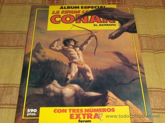 FORUM. RETAPADO Nº 14 LA ESPADA SALVAJE DE CONAN CON NºS 83-84-85. 590 PTS. MBE. (Tebeos y Comics - Forum - Retapados)