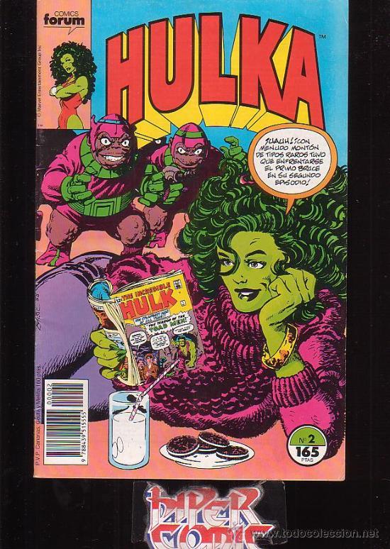 HULKA Nº 2 /DIBUJO: JOHN BYRNE - EDITA : FORUM (Tebeos y Comics - Forum - Furia)