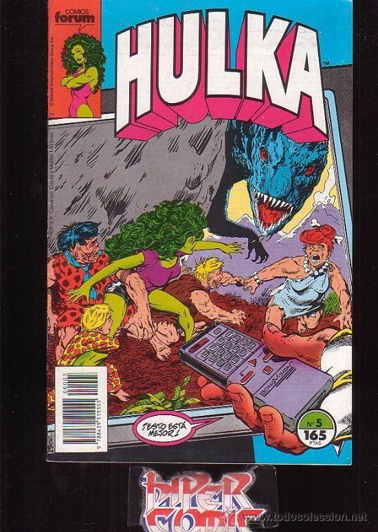 HULKA Nº 5 /DIBUJO: JOHN BYRNE - EDITA : FORUM (Tebeos y Comics - Forum - Furia)