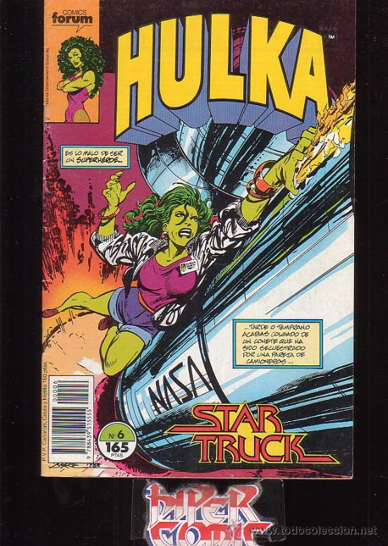 HULKA Nº 6 /DIBUJO: JOHN BYRNE - EDITA : FORUM (Tebeos y Comics - Forum - Furia)
