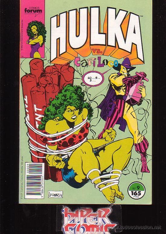 HULKA Nº 9 - EDITA : FORUM (Tebeos y Comics - Forum - Furia)