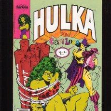 Cómics: HULKA Nº 9 - EDITA : FORUM. Lote 35957800