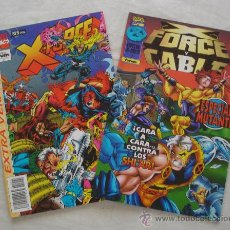 x force - lote de 2 comics - (x force extra verano) y (x force y cable nº1 especial mutante)