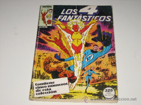 LOS 4 FANTASTICOS - RETAPADO - NºS 21 AL 25 (Tebeos y Comics - Forum - Retapados)