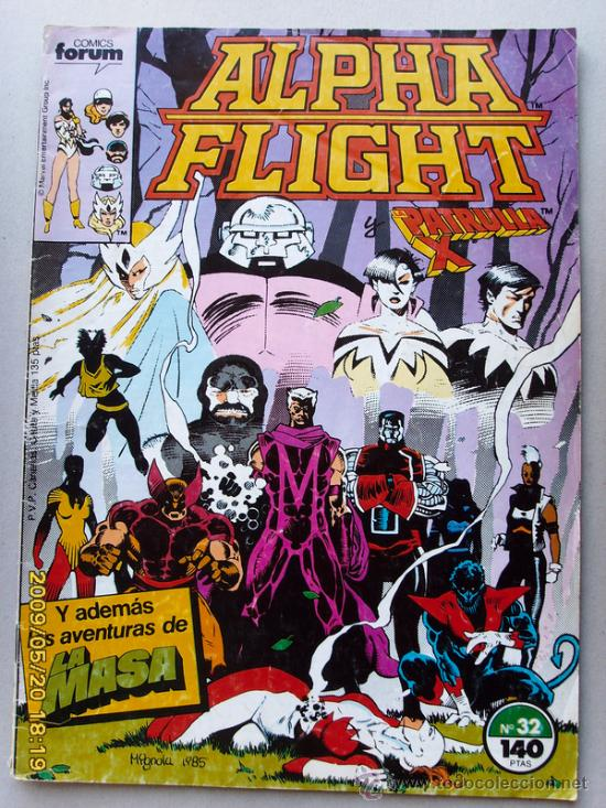 ALPHA FLIGHT-PATRULLA X (Tebeos y Comics - Forum - Alpha Flight)