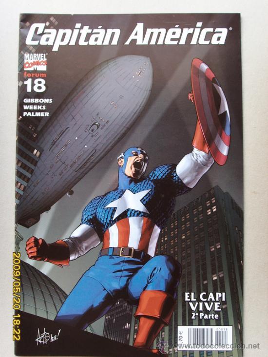 CAPITAN AMERICA (Tebeos y Comics - Forum - Capitán América)