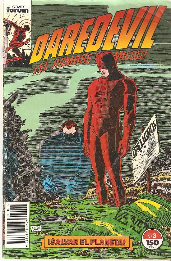COMIC DAREDEVIL VOL.II Nº3.SALVAR EL PLANETA. (Tebeos y Comics - Forum - Daredevil)