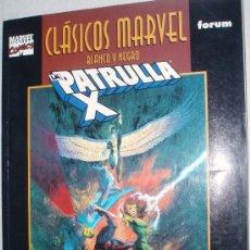 Cómics: CLÁSICOS MARVEL B/N PATRULLA-X . DESCATALOGADO . Lote 26652977