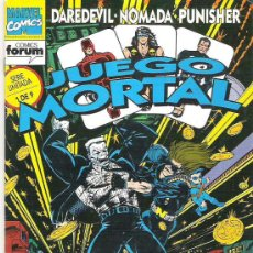 Cómics: DAREDEVIL NOMADA Y PUNISHER - JUEGO MORTAL Nº 1 VOL 1 1992. Lote 15552248