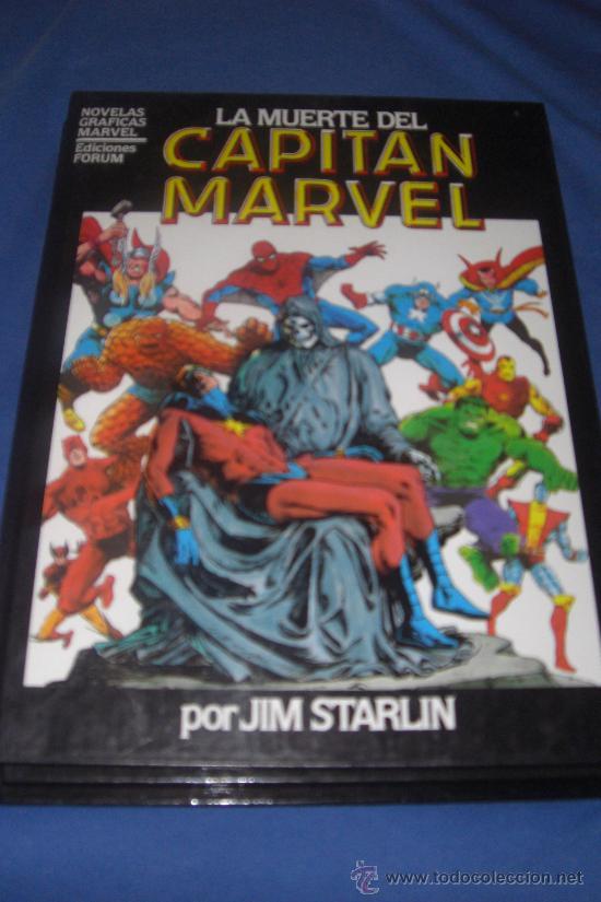 LA MUERTE DEL CAPITÁN MARVEL - NOVELA GRÁFICA FORUM Nº 2 - 1984 - JIM STARLIN PIEZA COLECCIÓN (Tebeos y Comics - Forum - Prestiges y Tomos)