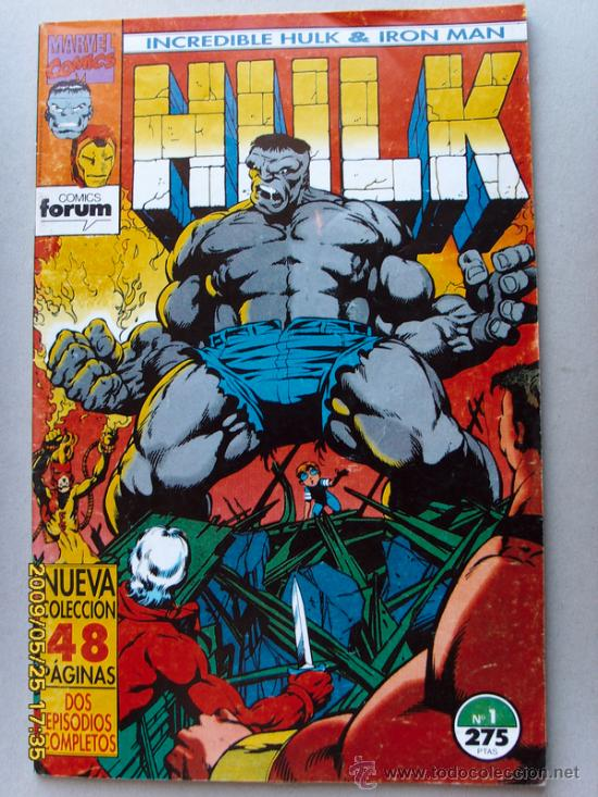 Cómics: HULK -( Incredible Hulk - Iron Man ) - Foto 1 - 25085577