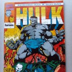 Cómics: HULK -( INCREDIBLE HULK - IRON MAN ). Lote 25085577