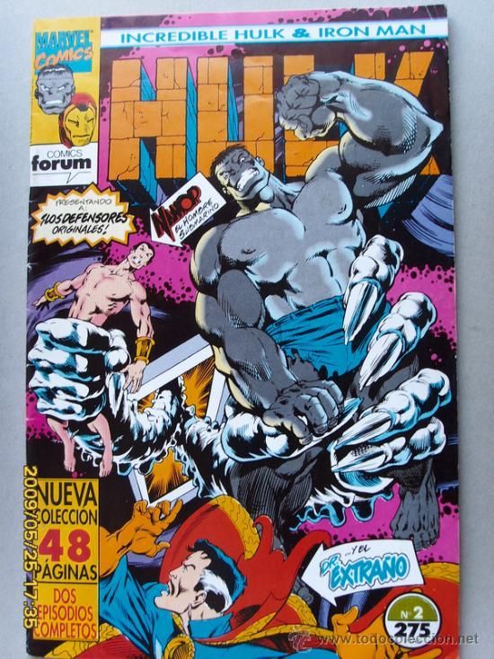 HULK -( INCREDIBLE HULK - IRON MAN ) (Tebeos y Comics - Forum - Hulk)