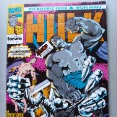 Cómics: HULK -( INCREDIBLE HULK - IRON MAN ). Lote 25085578
