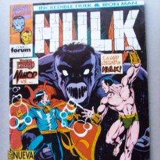 Cómics: HULK -( INCREDIBLE HULK - IRON MAN ). Lote 25085586