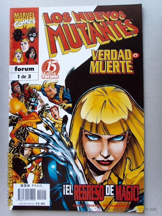 LOS NUEVOS MUTANTES (Tebeos y Comics - Forum - Nuevos Mutantes)