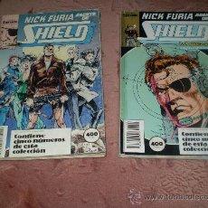Cómics: NICK FURIA, AGENTE DE SHIELD. 2 TOMOS.. Lote 26970045