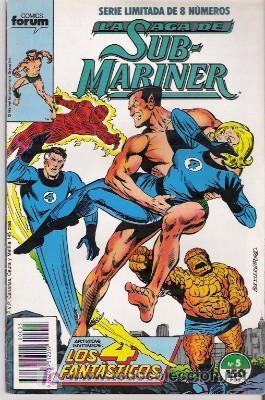 LA SAGA DE SUB-MARINER Nº 5, SERIE LIMITADA DE 8 NUMEROS, FORUM (Tebeos y Comics - Forum - Otros Forum)