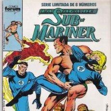 Cómics: LA SAGA DE SUB-MARINER Nº 5, SERIE LIMITADA DE 8 NUMEROS, FORUM. Lote 21445799