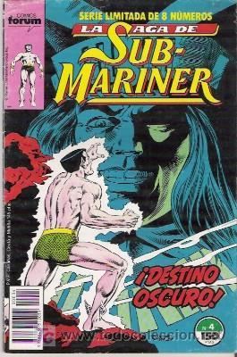 LA SAGA DE SUB-MARINER Nº 4, SERIE LIMITADA DE 8 NUMEROS, FORUM (Tebeos y Comics - Forum - Otros Forum)