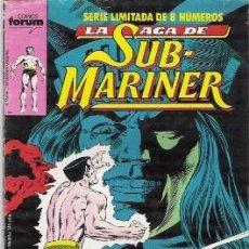 Cómics: LA SAGA DE SUB-MARINER Nº 4, SERIE LIMITADA DE 8 NUMEROS, FORUM. Lote 21445800