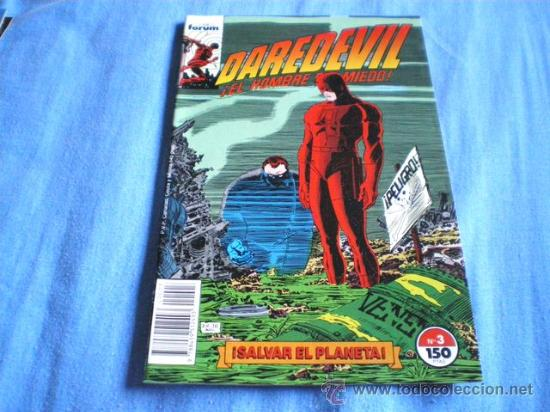 DAREDEVIL - Nº 3 - VOL 2 II - ANN NOCENTI, ROMITA JR., WILLIAMSON FORUM FORUM 1989 (Tebeos y Comics - Forum - Daredevil)