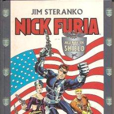 Cómics: NICK FURIA AGENTE DE SHIELD TOMO TAPA DURA 240 PAGINAS EDITA PLANETA-FORUM AÑO 2000 JIM STERANKO . Lote 26484984