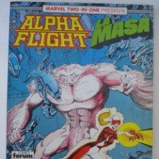 Comics : ALPHA FLIGHT LA MASA FORUM VOLUMEN UNO I 1 Nº 48, 49 Y 50 EN TOMO RETAPADO. Lote 27445281