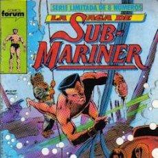 Cómics: LA SAGA DE SUB-MARINER Nº 2, FORUM. Lote 21751215