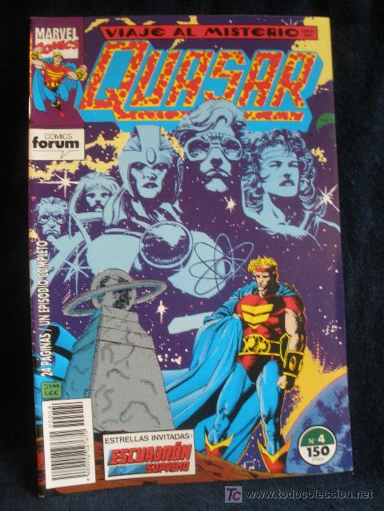 QUASAR. Nº 4 (Tebeos y Comics - Forum - Otros Forum)