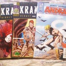 Cómics: ANDRAX NUMERO 1 Y KRAKEN 1 Y 2. Lote 27566915