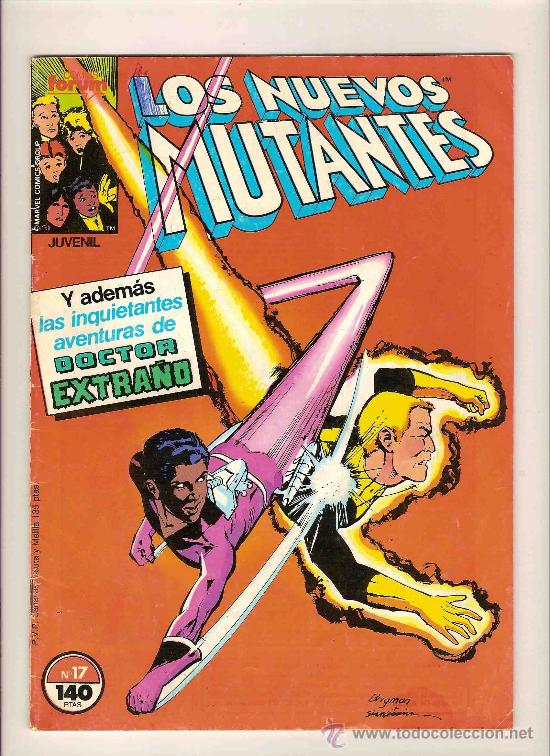 FORUM - LOS NUEVOS MUTANTES - LOTE DE NUMEROS: 17 - 27 - 28 + TOMO CON EL 21 - 22 - 23 - 24 - 25 (Tebeos y Comics - Forum - Nuevos Mutantes)