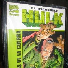 Cómics: HULK: LOS PERROS DE LA GUERRA. Lote 27117065