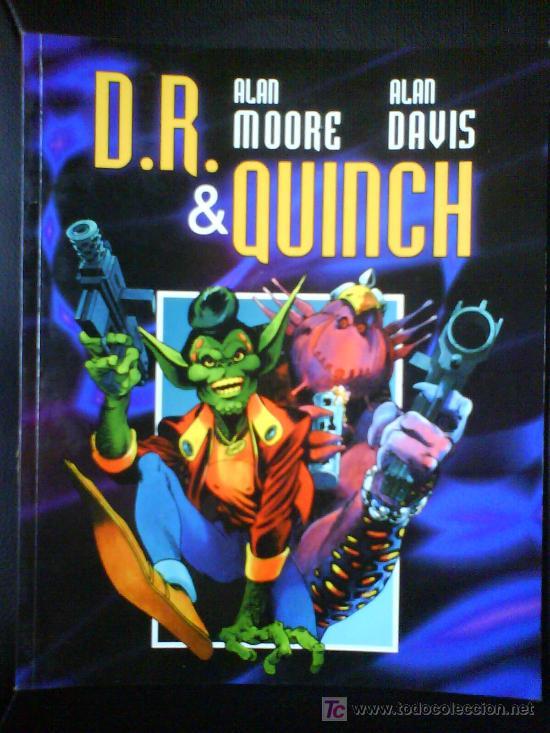 D.R. & QUINCH POR ALAN MOORE & ALAN DAVIS (Tebeos y Comics - Forum - Prestiges y Tomos)